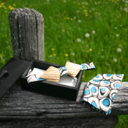 freccia papillon in legno