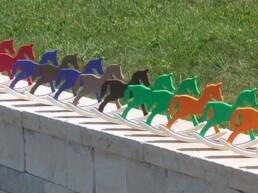 animali in legno giocattoli per bambini