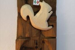 orologio tavola legnovecchio