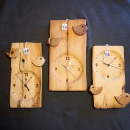 orologio uccellini
